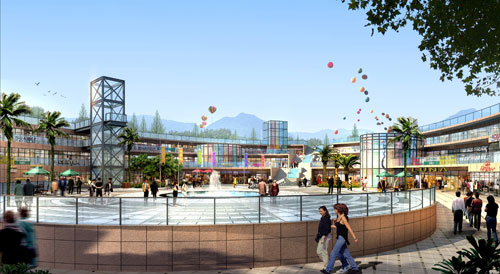 青海西宁浦宁之珠配套设计 建筑设计篇 案例经典 重庆园林景观设计